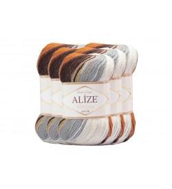 Alize Süperlana Zincir Batik 5 Adet 4221