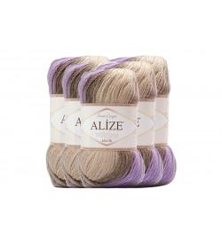 Alize Süperlana Zincir Batik 5 Adet 4338