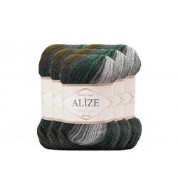 Alize Süperlana Zincir Batik 5 Adet 4309