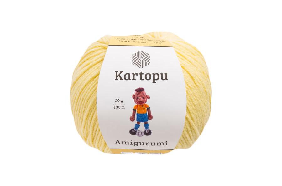 Kartopu Organica 50gr Ten Rengi El Örgü İpi - K1219 - Hobium | 596x900