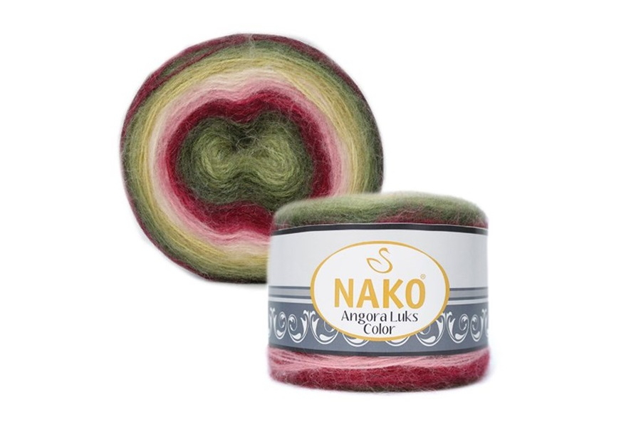 Nako Angora Luks Color 81909