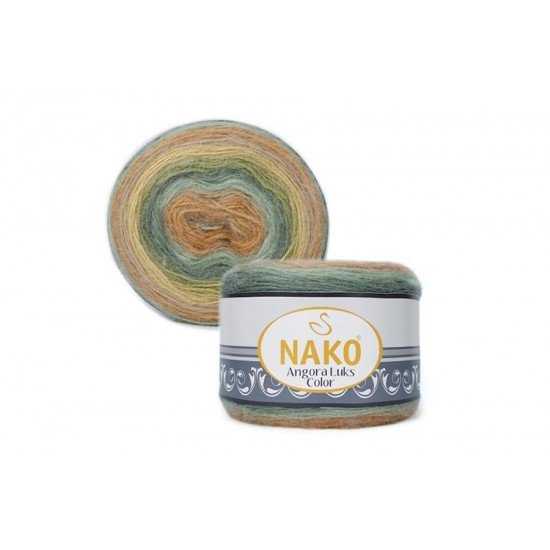 Nako Angora Luks Color 81912