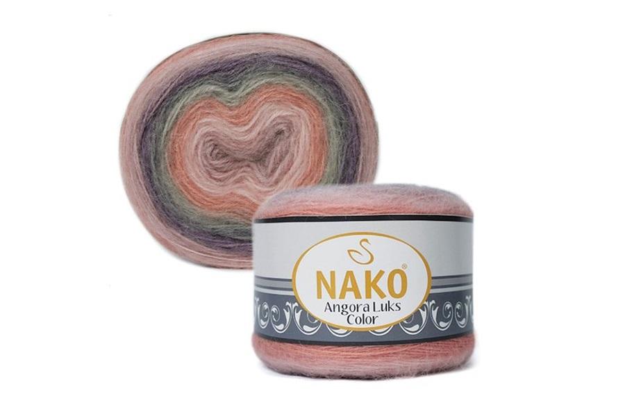 Nako Angora Luks Color 81915