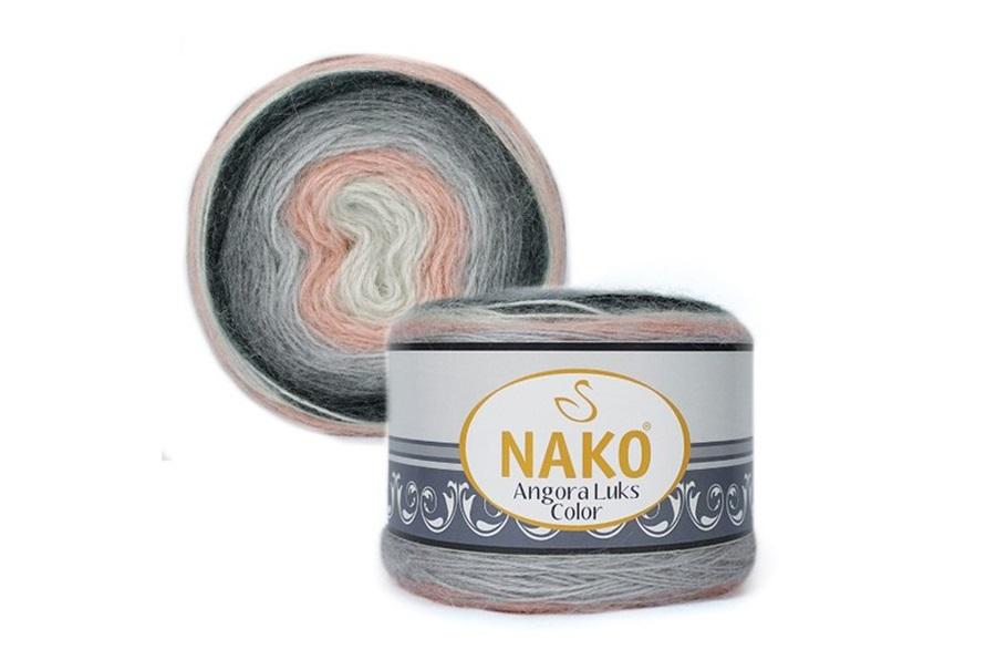 Nako Angora Luks Color 81916