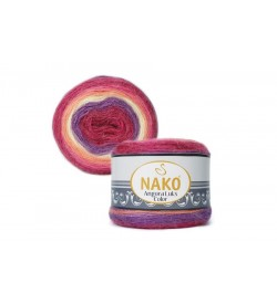 Nako Angora Luks Color 81917