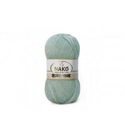 Nako Angora Luks Simli Azur-10023