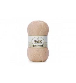 Nako Angora Luks Simli Bej Pudra-2250