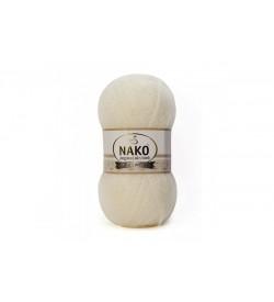 Nako Angora Luks Simli Eski Dantel-23403