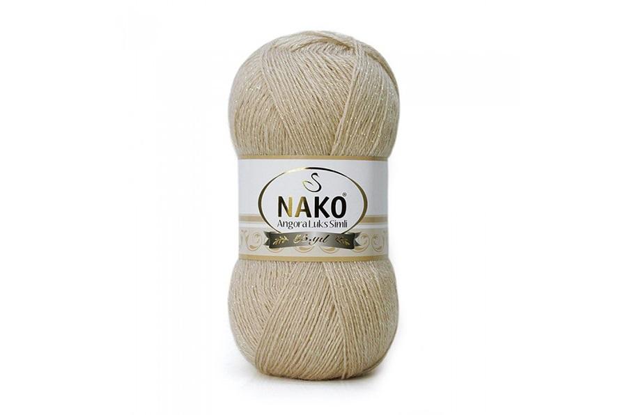 Nako Angora Luks Simli Vizon-6858
