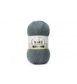 Nako Angora Luks Simli Koyu Metalik Gri-3468