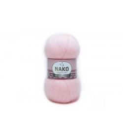 Nako Angora Luks Açık Pembe-11502