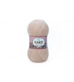 Nako Angora Luks Açık Ten-10042