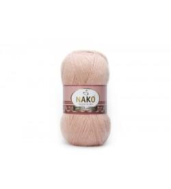Nako Angora Luks Bejli Pudra-10722