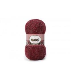 Nako Angora Luks Bordo Muline-21359