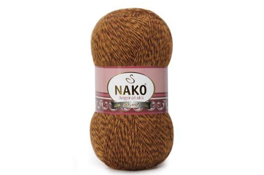 Nako Angora Luks Hardal Muline-21361