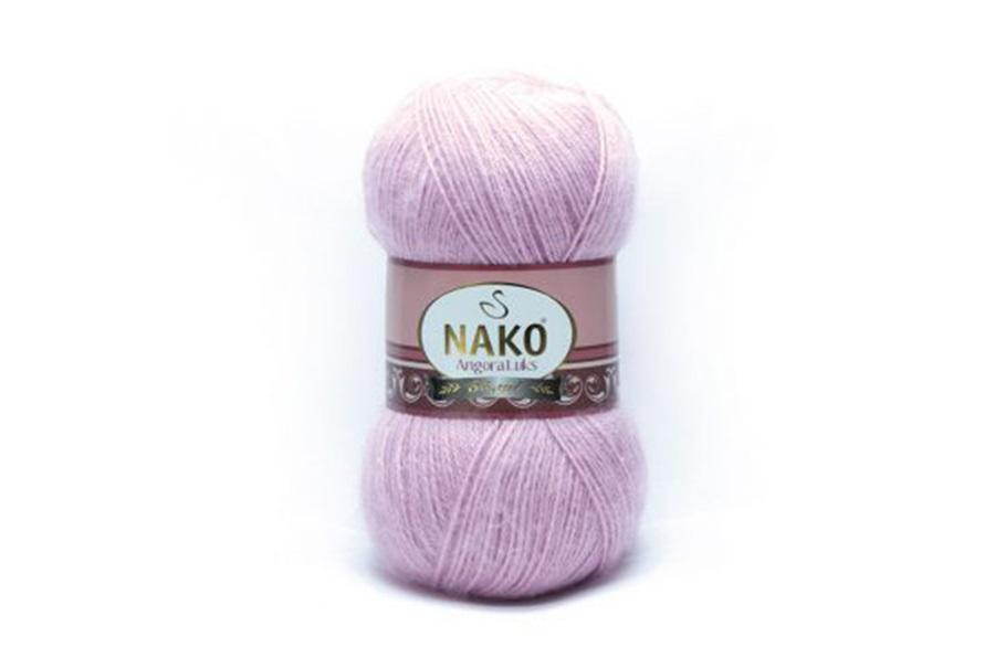 Nako Angora Luks Lila-6880