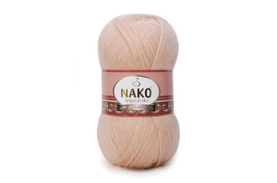 Nako Angora Luks Sarılı Pudra-10390