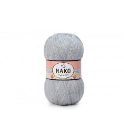 Nako Bebe 100 Açık Gri Melanj-195
