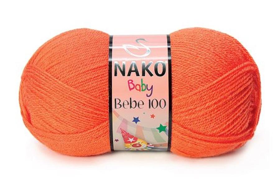 Nako Bebe 100 Turuncu-10374