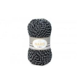 Nako Calico Siyah Beyaz Muline-21301