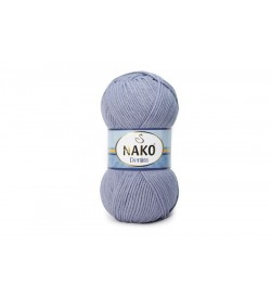 Nako Denim Koyu Lila-6540