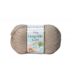 Nako Hoşgeldin Soft Koyu Bej-6377