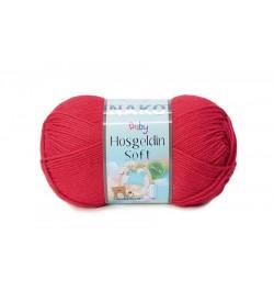 Nako Hoşgeldin Soft Venedik Kırmızısı-6951