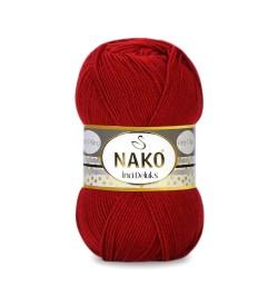 Nako İnci Deluks Koru Kırmızı 01175
