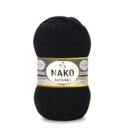 Nako İnci Deluks Siyah 00217