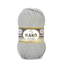 Nako İnci Deluks Metal Gri 10914