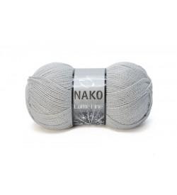 Nako Lame Fine Açık Gri-130