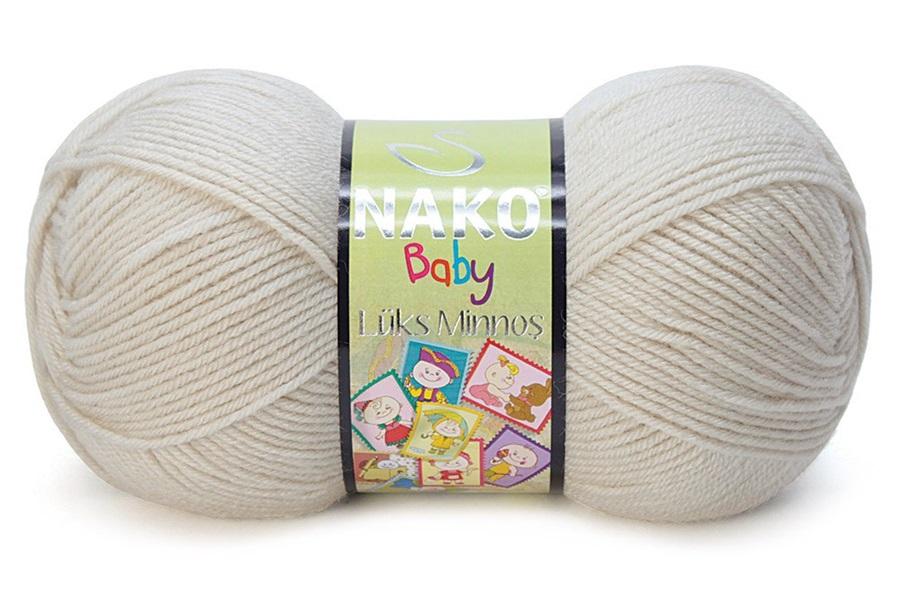 Nako Lüks Minnoş Açık Bej-6690