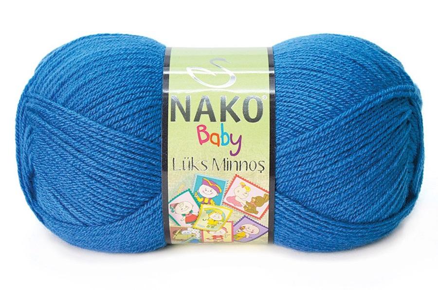 Nako Lüks Minnoş Koyu Mavi-10084