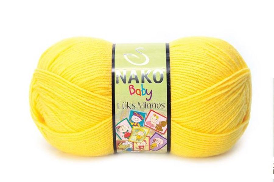Nako Lüks Minnoş Tatlı Sarı-145