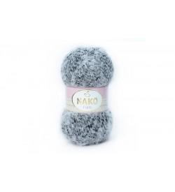 Nako Paris Beyaz Siyah Muline-21304