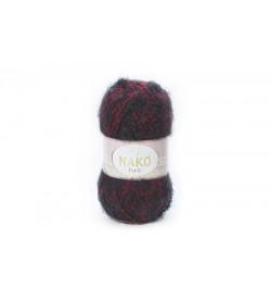 Nako Paris Kırmızı Siyah Muline-21306