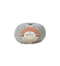 Nako Pure Wool Plus Açık Gri Melanj-195