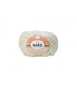 Nako Pure Wool Plus Beyaz-208
