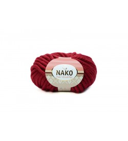 Nako Pure Wool Plus Koyu Kırmızı-1175