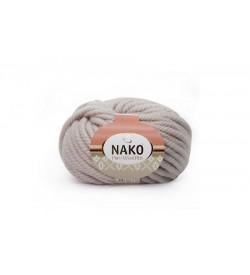 Nako Pure Wool Plus Kristal Beyaz-1529