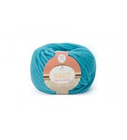 Nako Pure Wool Plus Mavi Kuş-6404