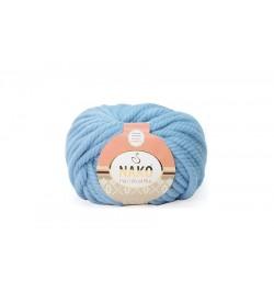 Nako Pure Wool Plus Pudra Mavi-1579