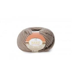 Nako Pure Wool Plus Sütlü Kahve-257