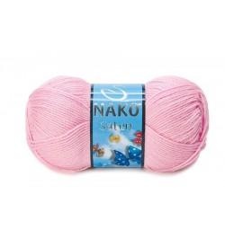 Nako Saten Açık Pembe-2197