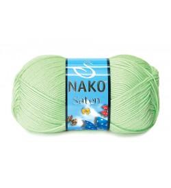 Nako Saten Açık Yeşil-10154