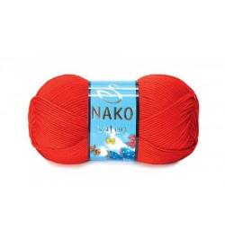 Nako Saten Alev Kırmızı-207