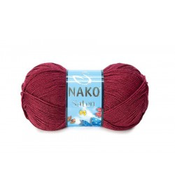 Nako Saten Bordo-999