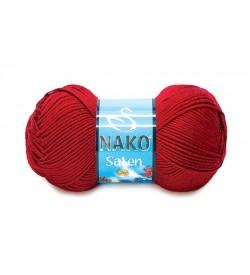 Nako Saten Koyu Kırmızı-1175