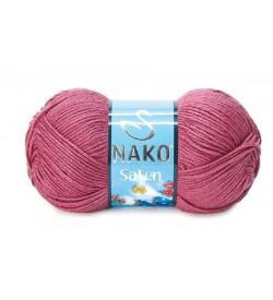 Nako Saten Koyu Pembe-6578