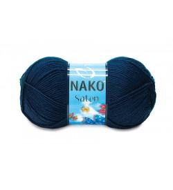 Nako Saten Lacivert-4253